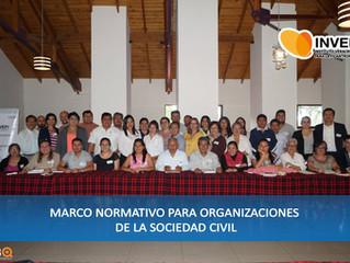 """Concluye curso """"Marco Normativo para OSC"""""""