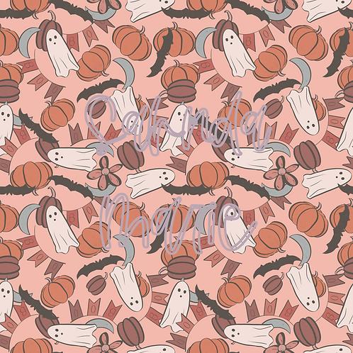 BOOtiful Halloween 4 Seamless Repeat Pattern Download