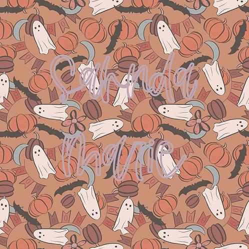 BOOtiful Halloween 6 Seamless Repeat Pattern Download