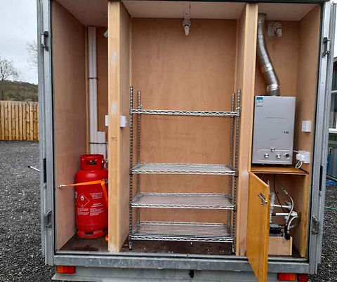 Cool Trailers | Mobile Kitchen Hire | Rear Compartment