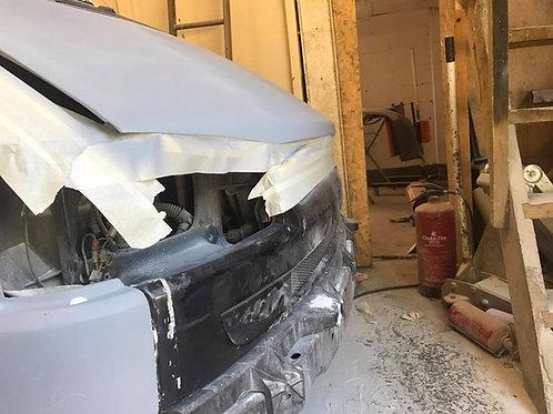 Volkswagen T4 (Short Nose) Bad Boy Bonnet Extension