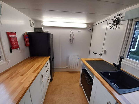 Cool Trailers | Mobile Kitchen Hire | Inside