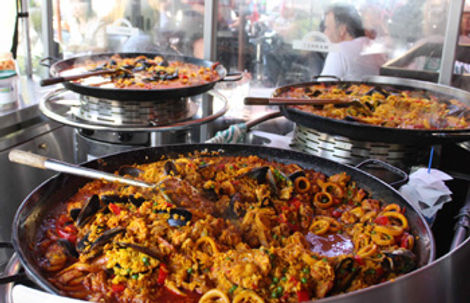 Chipping Norton Catering | Our Big Pans and Paellas
