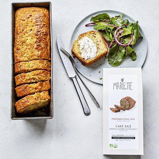 Préparation - Cake Salé