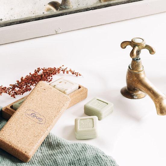 Trio solide : savon, shampoing et soin