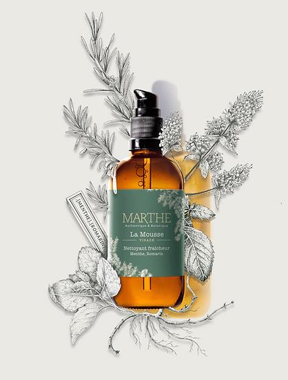Marthe - La mousse, nettoyant fraicheur