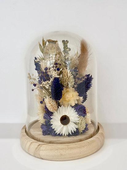 Cloche fleurie - Moyenne