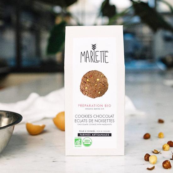 Préparation - Cookies Chocolat Noisettes