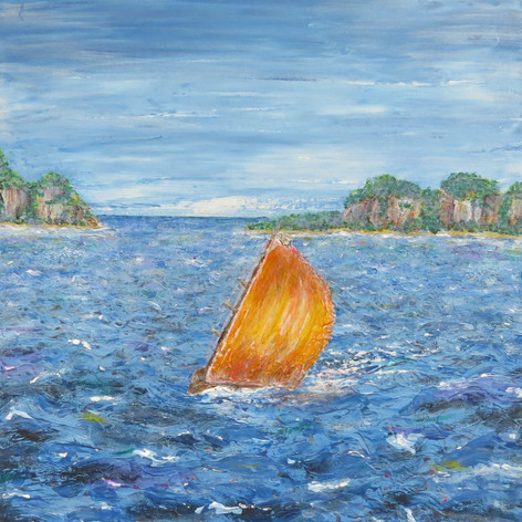 Painting 4: Sailboat