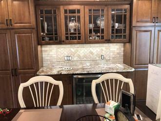 Kitchen renovation - under cabinet lighting