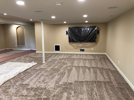 Recessed can lighting installation