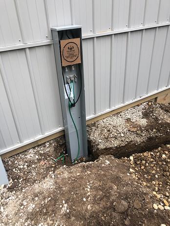 Pole barn electric  - Oswego, IL
