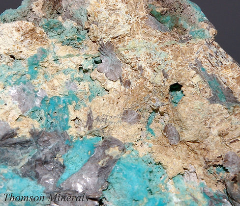 Turquoise & Varlamoffite - Gunheath CCP Cornwall