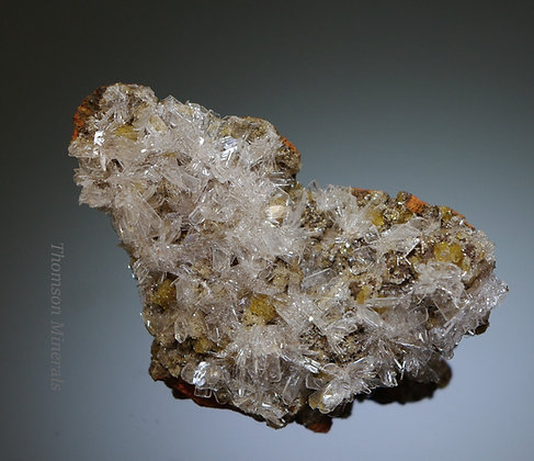 Hemimorphite - Ojuela Mine, Mapimi, Durango Mexico