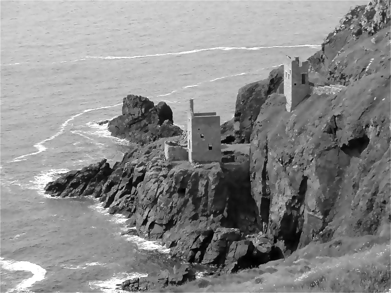 Crown Shaft, Botallack, Cornwall