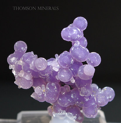 Amethyst var 'Grape' Chalcedony - West Sulawesi, Indonesia