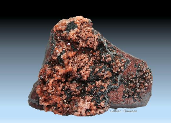 'Eissen Kiesel' Quartz, Hematite. Florence Mine, Egremont, Cumbria