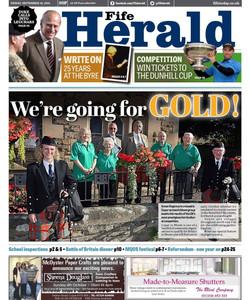 Fife Herald Newspaper Article
