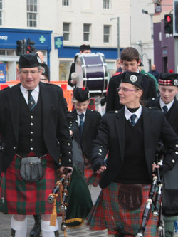 Cupar and District Pipe Band