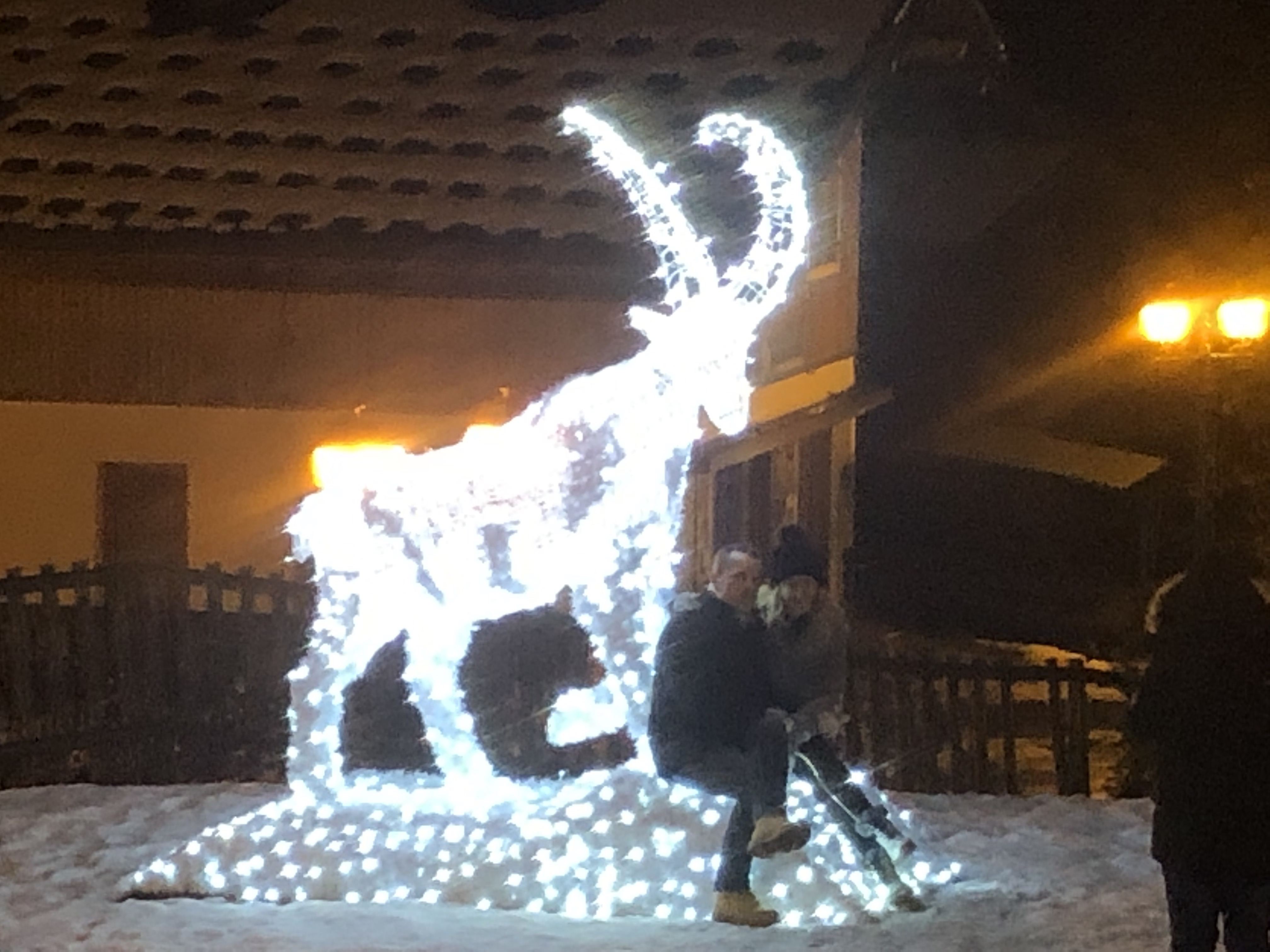 Megeve by night 2