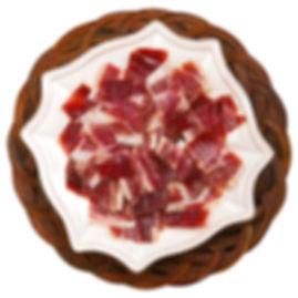 Carnicería López Madrid. jamón Ibérico bellota