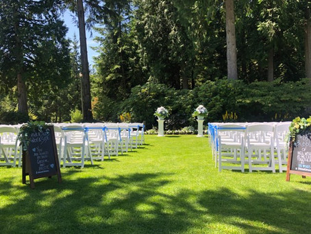 Sunny Days Ahead with Encore - Fraser Valley Wedding Coordination