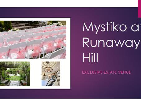 Introducing Mystiko, Exclusive Estate Venue!