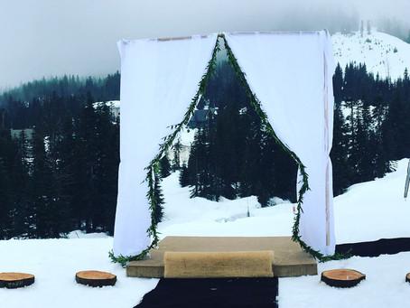 Snowy Mountain Vows