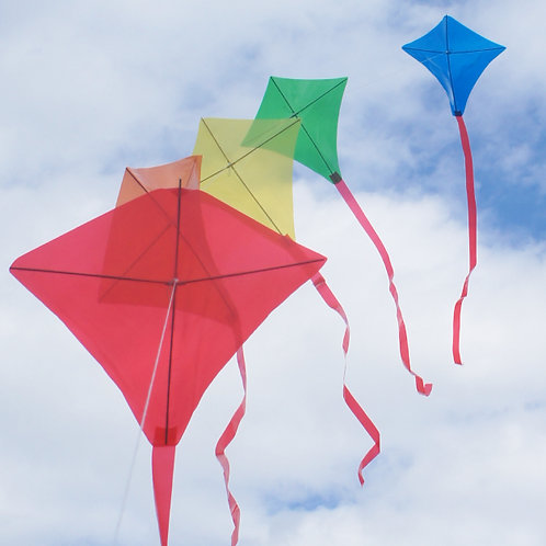 '5-train' diamond kite