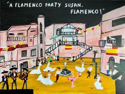A flamenco party Susan. Flamenco!