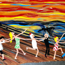 Piece 33 - A ridiculous scream, but the conga continues!!