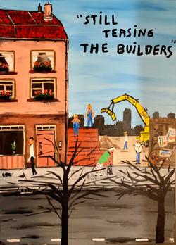 Still teasing the builders