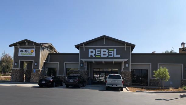 Shell / Carwash / Rebel