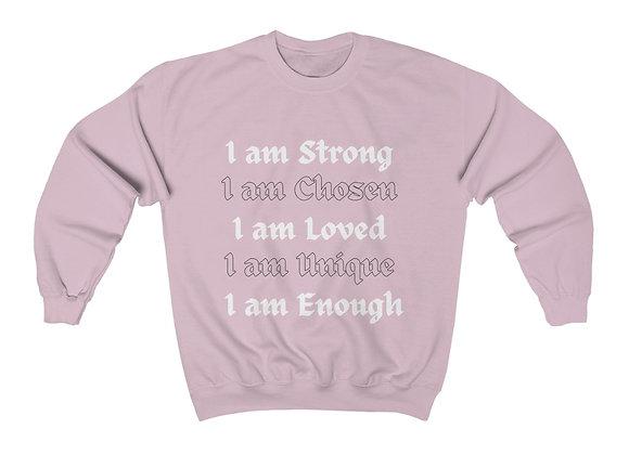 I Am Enough Crewneck Sweatshirt
