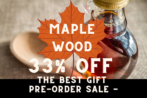 12-Pack (540 ml/each) of Maple Wood Maple Syrup