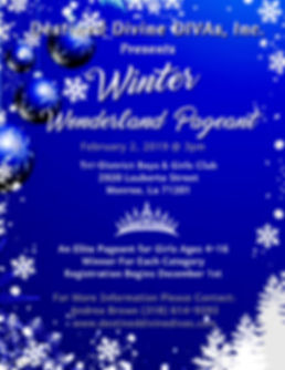 Winter Wonderland Pageant - Made with Po