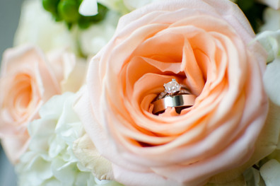 ring in a rose wedding details