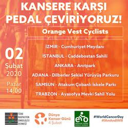 Kansere Karşı Pedal Çeviriyoruz!