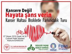 Kanser Haftası Bisiklet Turu