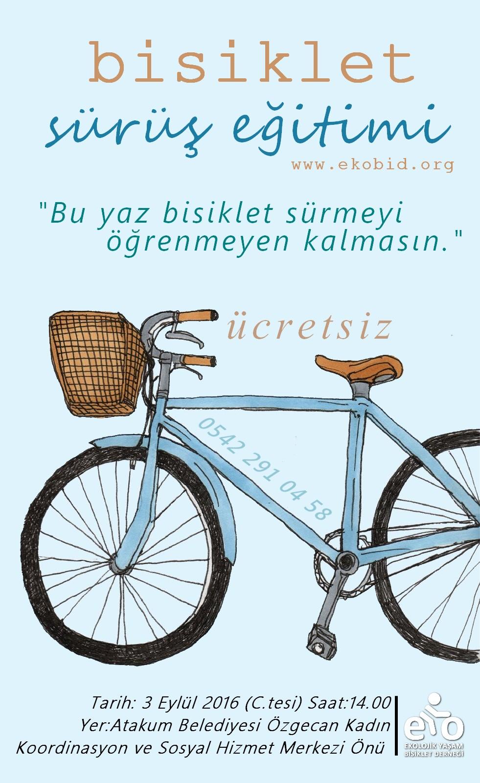 Ücretsiz Bisiklet Sürüş Eğitimi