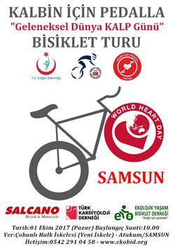 Dünya Kalp Günü Bisiklet Turu