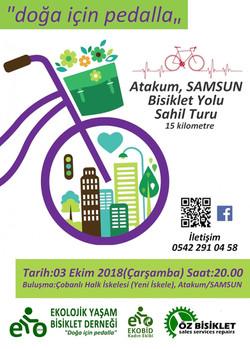 Atakum Sahil Yolu Bisiklet Turu