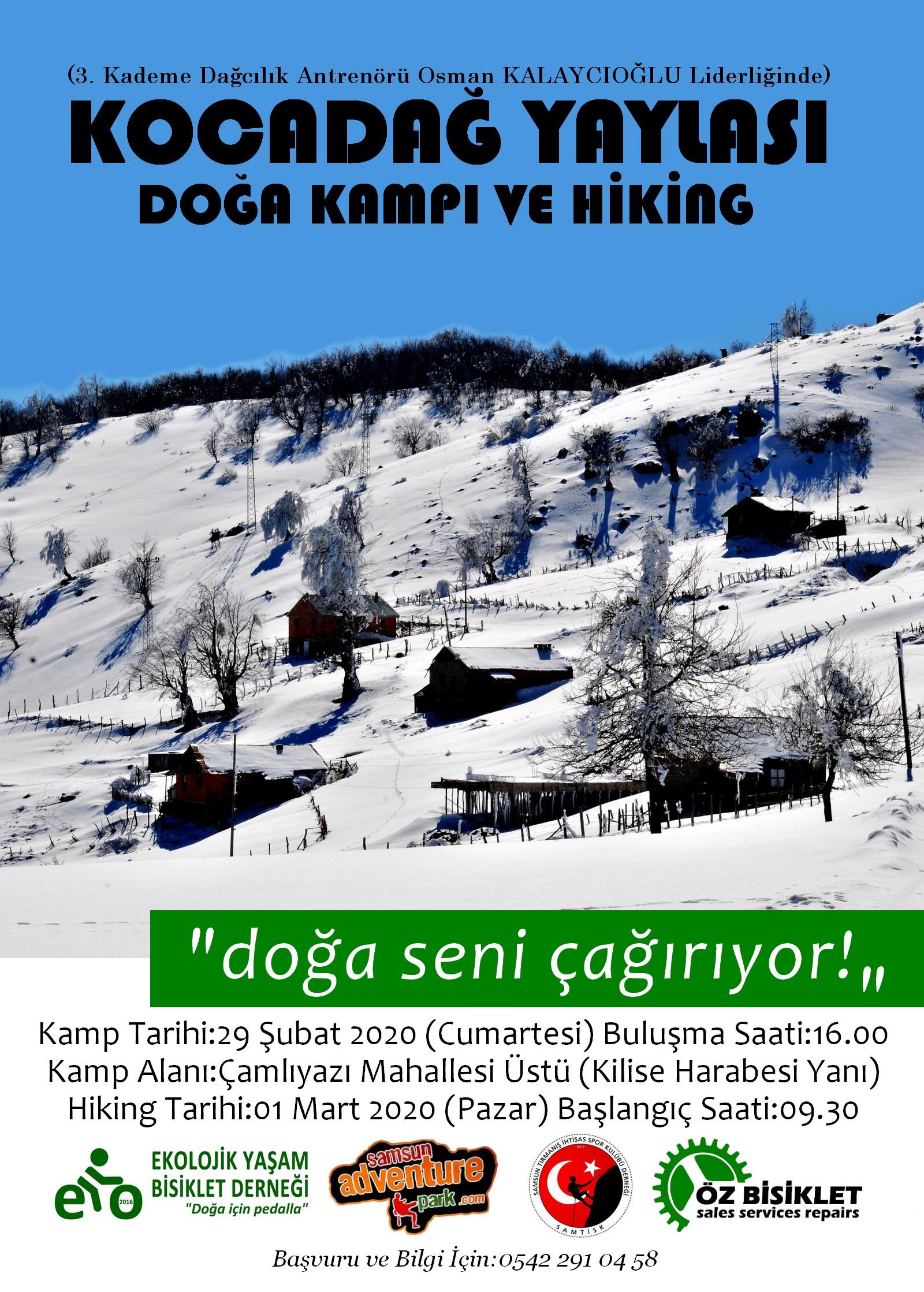 KOCADAĞ KAMPI VE HİKİNG