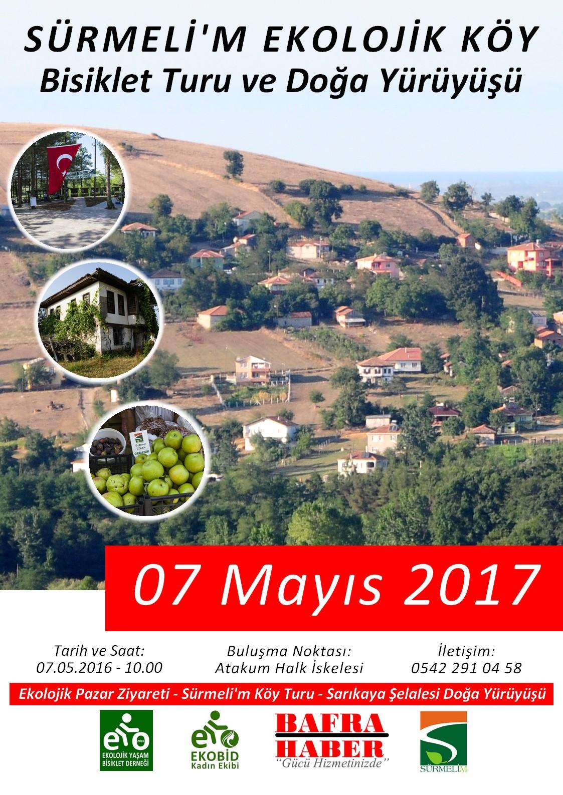 Sürmeli'm Ekolojik Köy Bisiklet Turu