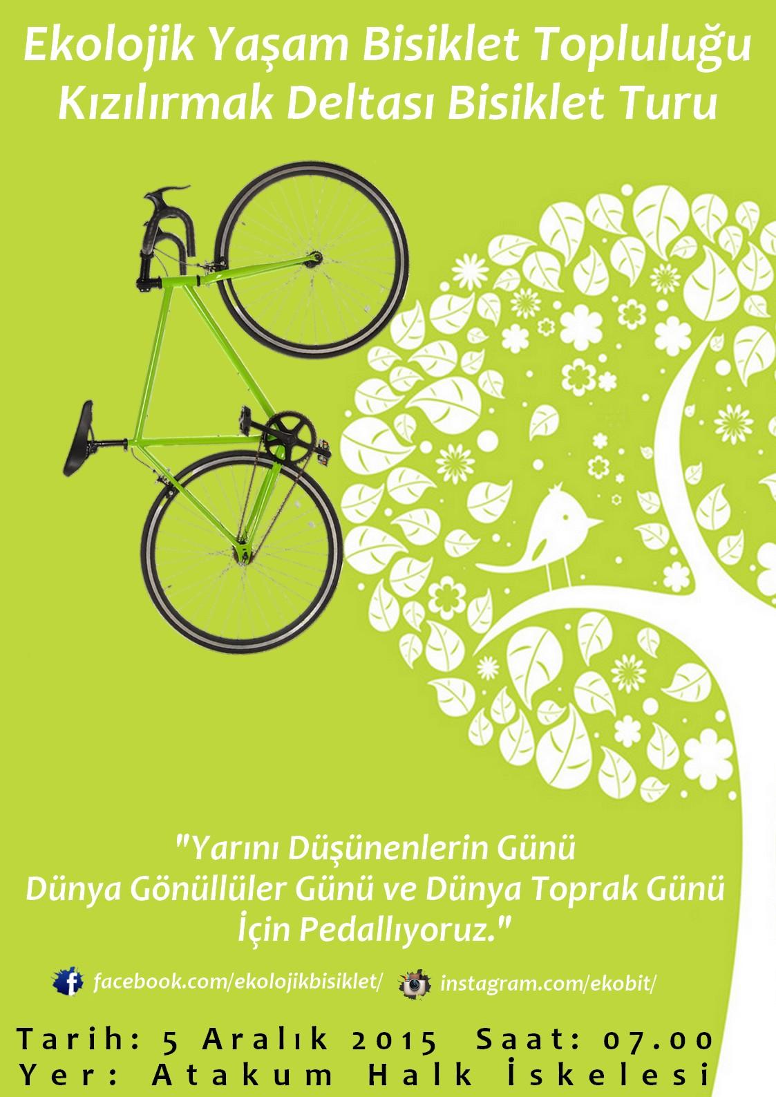 Dünya Gönüllüler Günü Bisiklet Turu