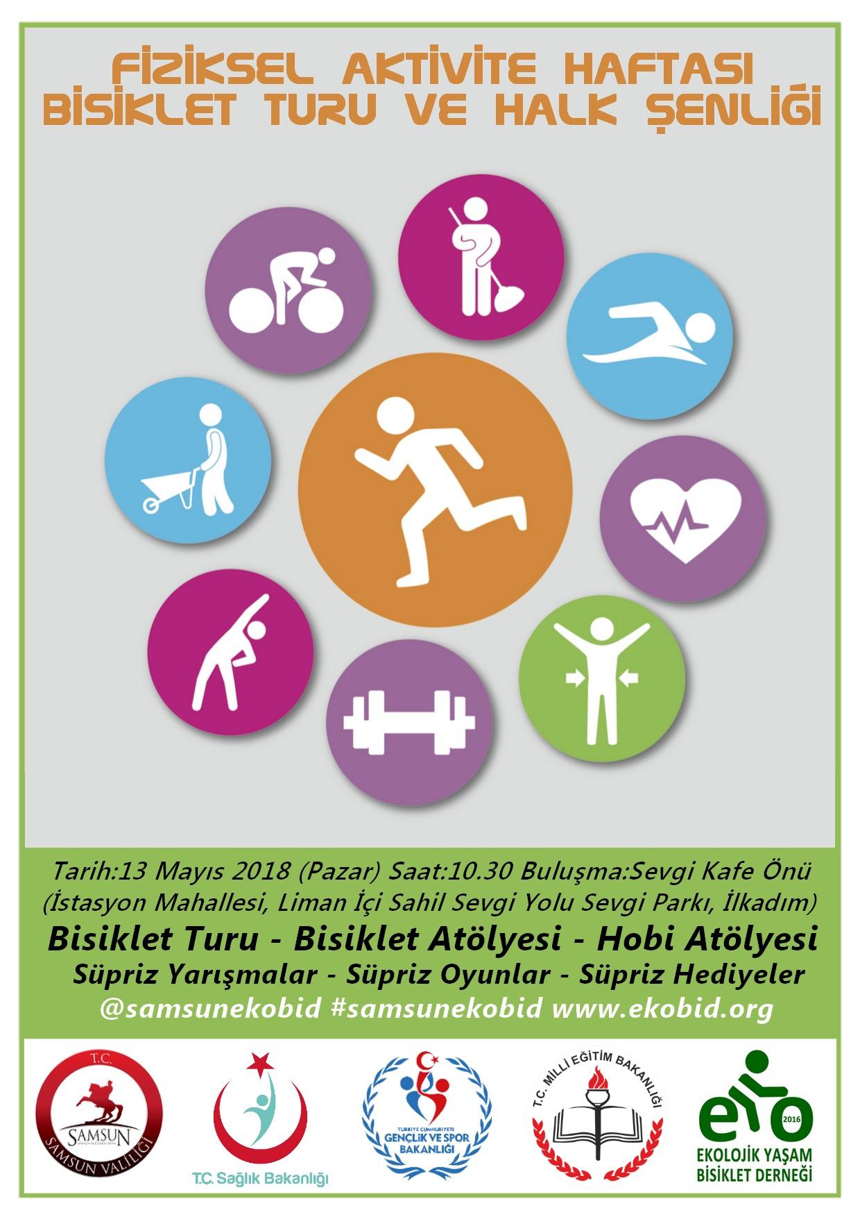 Fiziksel Aktivite Haftası Şenlik