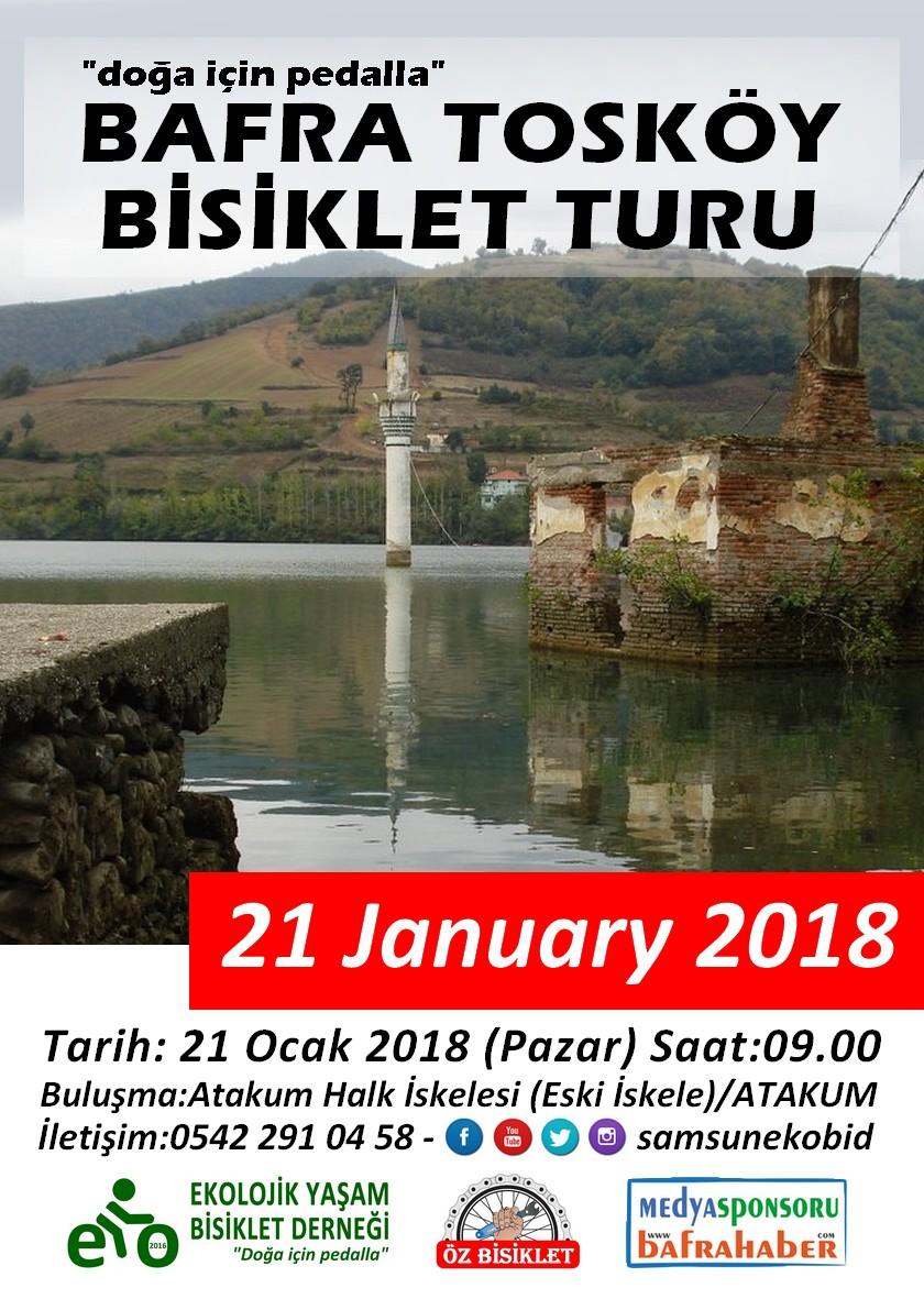 Bafra Tosköy Bisiklet Turu