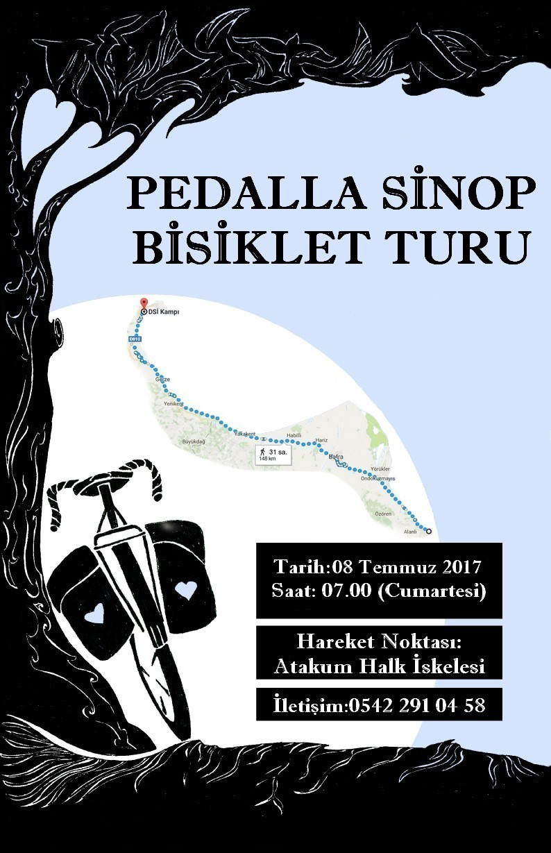 Pedalla, Sinop Bisiklet Turu