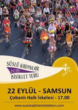 Samsun Süslü Kadınlar Bisiklet Turu