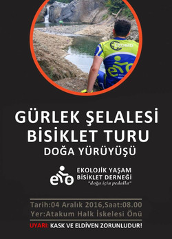 Gürlek Şelalesi Bisiklet Turu